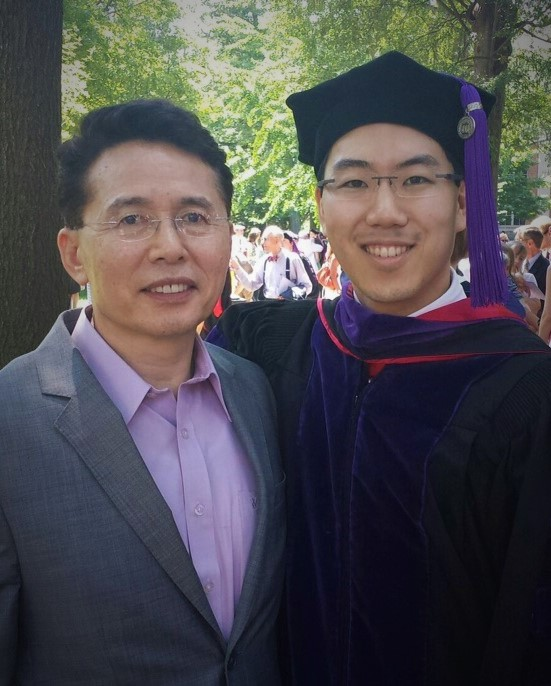 Graduation day for Andy Shin, founder of WebScho Academy